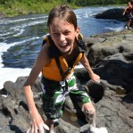 Water fun below Allagash Falls