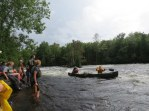 Little Falls, St Croix River, Easy class I-II Whitewater Canoeing