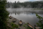 Allagash Canoe Trip First light